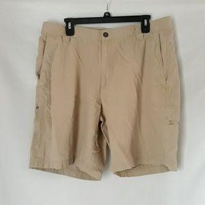 Columbia khaki shorts